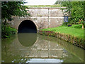 SP5970 : Crick Tunnel south portal in Northamptonshire by Roger  Kidd