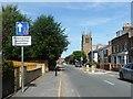 SE7970 : Traffic calming on Langton Road by Christine Johnstone