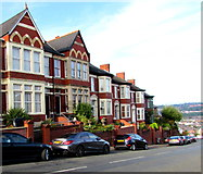 ST3288 : Housing variety, Christchurch Road, Newport by Jaggery