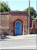 SK3616 : Entrance to the Old Vicarage, Upper Church Street, Ashby-de-la-Zouch by Alan Murray-Rust