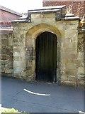 SK3616 : Doorway to Manor House by Alan Murray-Rust
