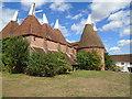 TQ8038 : Oast House Sissinghurst by Paul Gillett