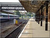 SO8555 : Shrub Hill Station by Philip Halling