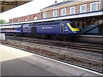 SO8555 : HST pulling out of Shrub Hill Station by Philip Halling