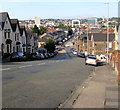 ST3288 : From Christchurch Road towards Church Road, Newport by Jaggery