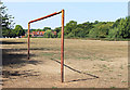 SP9600 : Rusty Goal on Chesham Moor by Des Blenkinsopp
