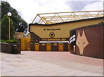 SO9199 : The Sir Jack Hayward Stand by Gordon Griffiths