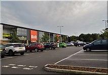 TQ2918 : Retail park on Jane Murray Way, Burgess Hill by David Howard