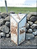 D3412 : Old Milepost by the A2, Coast Road, Drumnagreagh by Milestone Society