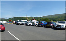 NS0274 : Rhubodach ferry terminal by Thomas Nugent