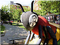 SJ8497 : Turing's Bee, Sackville Gardens by David Dixon