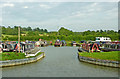 SP5972 : Crick Marina northern entrance, Northamptonshire by Roger  Kidd