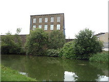 SD8537 : Mill beside the Leeds & Liverpool Canal by JThomas
