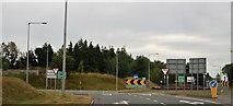 S5254 : Bennettsbridge Road Roundabout by N Chadwick