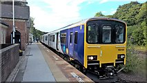 SK3281 : Northern Class 150/1 DMU at Dore & Totley station by Chris Morgan