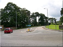 NS3618 : Entrance to Ailsa Hospital by Elliott Simpson