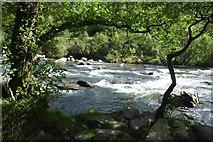 SH5946 : Afon Glaslyn by DS Pugh