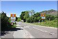 SH7043 : The A470 entering Blaenau Ffestiniog by Jeff Buck