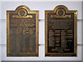 SJ8498 : War Memorials at The Printworks by David Dixon
