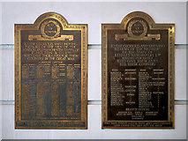SJ8498 : War Memorials at The Printworks by David Dixon