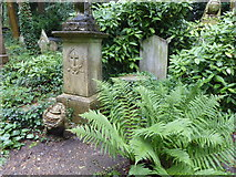 TQ2887 : The very first burial in Highgate Cemetery by Marathon
