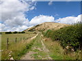 NO4204 : Track leading to Largo Law by Alan O'Dowd