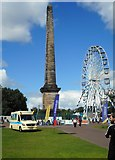 NS5964 : Nelson Monument, Glasgow Green by Richard Sutcliffe