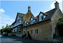 SO9537 : The former Post Office and village stores, Overbury by Philip Pankhurst