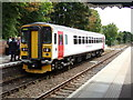 TM3877 : Train No.153314 at Halesworth Railway Station by Adrian Cable
