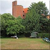 TL4358 : Robinson College: Cambridge Shakespeare Festival box office by John Sutton