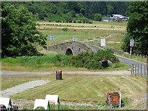 NR9984 : Old bridge at Glendaruel by Thomas Nugent