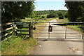 SE3173 : Entrance to Ripon Loop Nature Reserve by Derek Harper