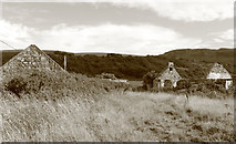 NX1896 : Old Ruin, Girvan by Billy McCrorie