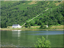 NS0583 : Hydro-electric power station at Loch Striven by Thomas Nugent