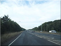 TQ2625 : Joining the A23 north of Bolney by David Howard