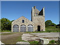 SW7344 : Wheal Busy - Engine Shaft pumping engine house by Chris Allen