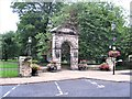 NY9364 : Northumberland Fusiliers' War Memorial Gateway, Sele Park, Hexham by G Laird