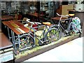 SJ8398 : Vintage Bicycles at Thaikhun Restaurant by Oliver Dixon