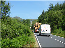 NS0683 : The B836 road by Thomas Nugent