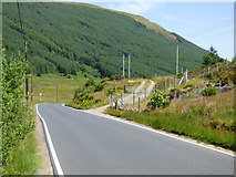 NS0883 : Track off the B836 road by Thomas Nugent