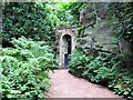 NZ0878 : Quarry Garden, Belsay Estate by G Laird
