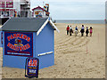 TG5307 : Donkey rides, Great Yarmouth by Robin Webster