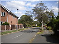 SK3339 : West end of Clifton Road, Allestree by Richard Vince