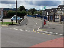ST1888 : Junction of Heol-yr-ysgol and Navigation Street, Trethomas by Jaggery