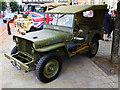 SU0682 : Jeep, High Street, Royal Wootton Bassett by Brian Robert Marshall