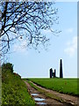 SW9650 : Engine house and chimney at Ventonwyn Mine by Rod Allday