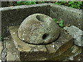 NZ7705 : Quern stone by Mick Garratt