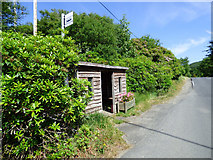 NS1181 : Bus shelter in Clachaig by Thomas Nugent
