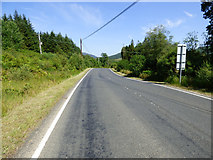 NS1281 : The B836 road near Clachaig by Thomas Nugent