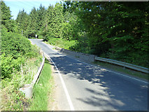 NS1381 : B836 road bridge over the Little Eachaig River by Thomas Nugent